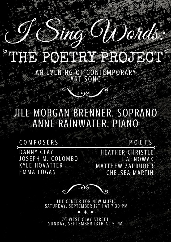 Poetry Project Poster
